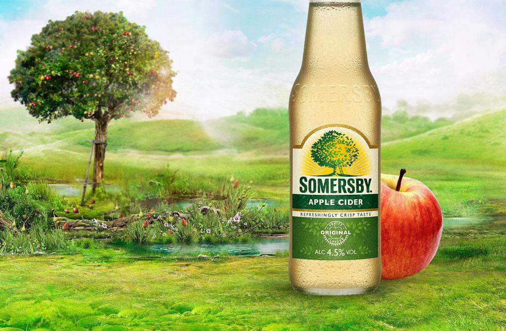 סומרסבי - סיידר תפוחים אלכוהולי
