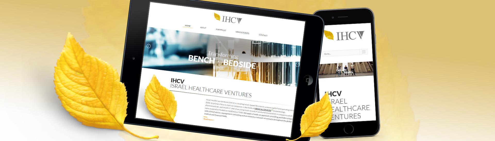 IHCV תצוגת טאבלט ומובייל
